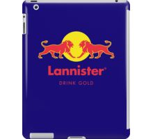 DRINK GOLD iPad Case/Skin