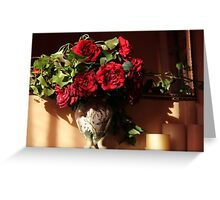 To give you roses Greeting Card