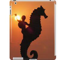 pictures of a sunset IV - imagenes de una puesta del sol iPad Case/Skin