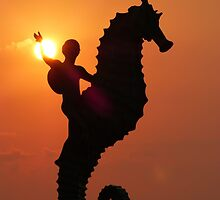 pictures of a sunset IV - imagenes de una puesta del sol by Bernhard Matejka