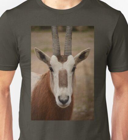 Scimatar horned oryx Unisex T-Shirt
