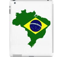 Map of Brazil iPad Case/Skin