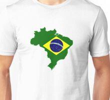 Map of Brazil Unisex T-Shirt