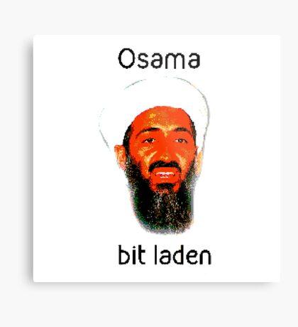 Osama Bit Laden Metal Print