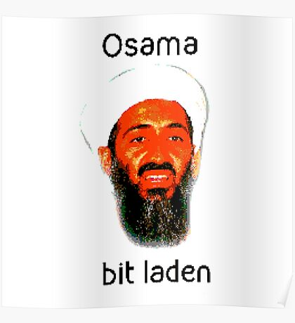Osama Bit Laden Poster