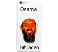 Osama Bit Laden iPhone Case/Skin