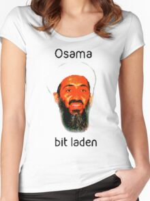 Osama Bit Laden Women's Fitted Scoop T-Shirt