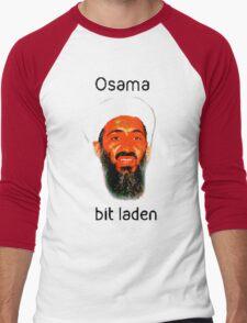 Osama Bit Laden Men's Baseball ¾ T-Shirt