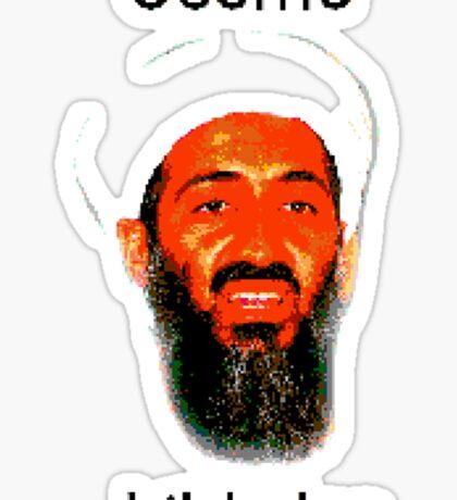 Osama Bit Laden Sticker