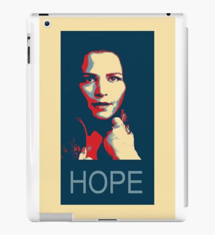 time for a hope speech iPad Case/Skin