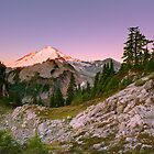 Mount Baker at Sunrise from Artist Point, Washington by DArthurBrown