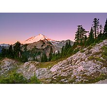 Mount Baker at Sunrise from Artist Point, Washington Photographic Print