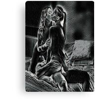 Erotic Lovers Seven Canvas Print