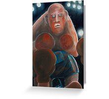 big Vince  Greeting Card