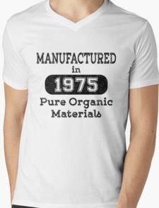 Manufactured in 1975 Mens V-Neck T-Shirt