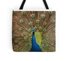 Peacock display  Tote Bag