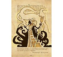 Nyarlathotep - Book Page Photographic Print