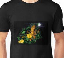 Halloween - Little Dragon Carving a Pumpkin Unisex T-Shirt