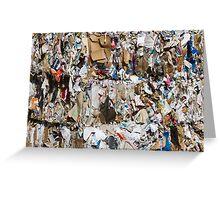 scrap paper Greeting Card