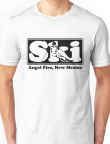 Angel Fire, New Mexico SKI Graphic for Skiing your favorite mountain, city or resort town Unisex T-Shirt
