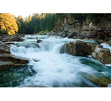 Eagle Falls, Skykomish River, Washington Photographic Print