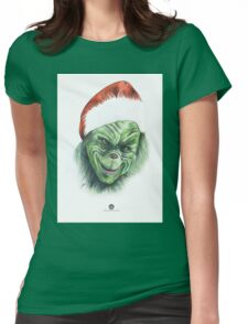 The Grinch Womens Fitted T-Shirt