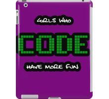 GIRLS WHO CODE iPad Case/Skin