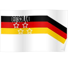 Germany - Celebrative 2014 World Cup T-shirt Poster