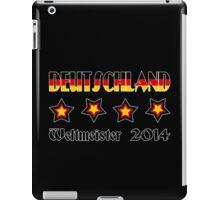 Germany - 2014 World Champion iPad Case/Skin