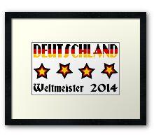 Germany - 2014 World Champion Framed Print