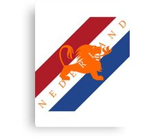 Netherlands - Celebrative 2014 World Cup T-shirt Canvas Print