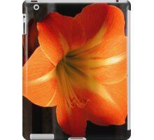 Gold Amaryllis iPad Case/Skin