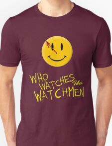 Who Watches the Watchmen and smile   T-Shirt