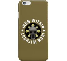 Iron Warriors - War Cry (Warhammer) iPhone Case/Skin