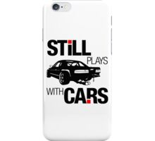 Still plays with cars (1) iPhone Case/Skin