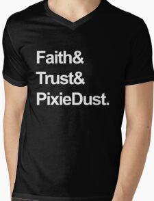 Faith, Trust, Pixie Dust Mens V-Neck T-Shirt