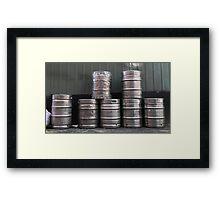 Seven Kegs Framed Print
