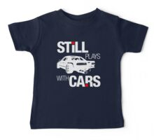 Still plays with cars (2) Baby Tee