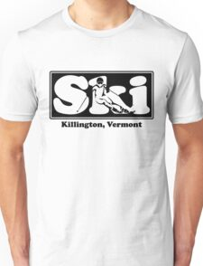 Killington, Vermont SKI Graphic for Skiing your favorite mountain, city or resort town Unisex T-Shirt