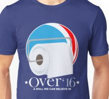 Roll the Vote! OVER! Unisex T-Shirt