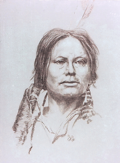 Chief Gall by BarbBarcikKeith
