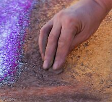 drawing with chalks by spetenfia