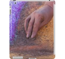 drawing with chalks iPad Case/Skin