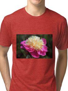 Peony Pleasure Tri-blend T-Shirt