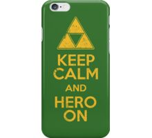 Hero On iPhone Case/Skin