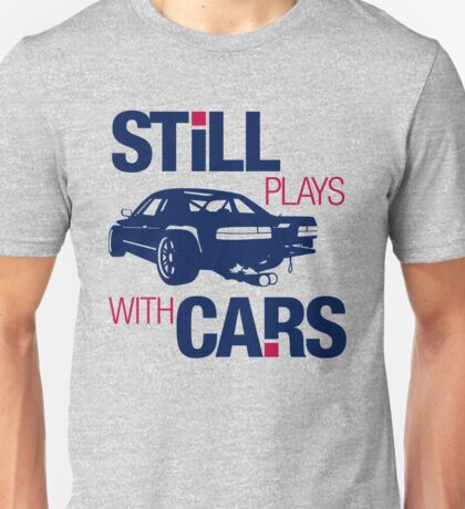 Still plays with cars (6) Unisex T-Shirt