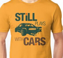 Still plays with cars (7) Unisex T-Shirt