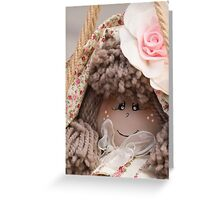 old dolls Greeting Card