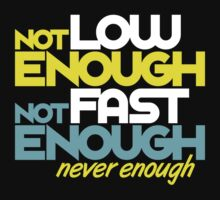 Not low enough, Not fast enough, Never enough (5) by PlanDesigner