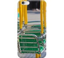carousel in the park iPhone Case/Skin